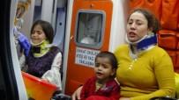 Yaralı Anne, Kazada Yaralanan Çocuğunu Sakinleştirmeye Çalıştı