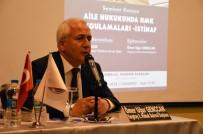 NAFAKA - Yargıtay 2. Hukuk Dairesi Başkanı Gençcan Açıklaması 'Süreli Nafaka Üzerinde Çalışmalar Sürüyor'