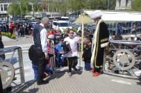 81 İlden Gelen 81 Çocuk, İlk Kez İstanbul'u Ve Denizi Gördü