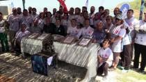 MUHITTIN GÜREL - Akvaryum Adam Karabay'ın 'Dünya Rekoru' Hazırlığı