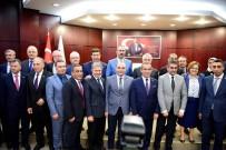 CANAN CANDEMİR ÇELİK - Bakanlardan GTO'ya 'Hayırlı Olsun' Ziyareti
