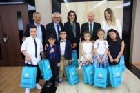 KARAÖZ - Başkan Çolakbayrakdar, Koltuğu Çocuklara Devretti