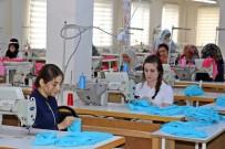 Bismil'de Giyim Kursunu Bitiren Kadınların İşi Hazır