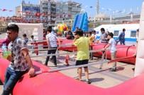 ÖZLEM ÇERÇIOĞLU - Çocuklar 23 Nisan'ı Eğlenerek Kutluyor