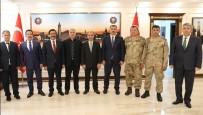 ŞIRNAK VALİSİ - (Düzeltme) Valilerden Başkan Atilla'ya Ziyaret
