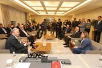 DEMİRYOLLARI - Şahin, Ulaştırma Bakanı Arslan'ı Ağırladı