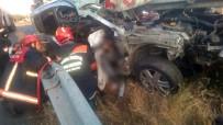 Silivri'de Feci Kaza Açıklaması 1 Ölü, 1 Yaralı