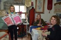 Türkiye'de İlk Kez Trabzon'da Elbiselere İşlenmeye Başlandı