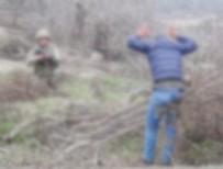 Yunanistan'a kaçma girişimindeyken askeri bölgede yakalandı!