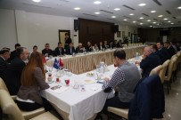 İSTİŞARE TOPLANTISI - Aktaş, Akademik Odalarla 'Bursa'yı Konuştu