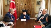 SÜLEYMAN DEMİREL - Belediye Başkanı Hasan Kara Koltuğunu Devretti