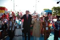 DİZİ OYUNCUSU - Cumhurbaşkanı Erdoğan, Dünya Çocuklarını Ağırladı