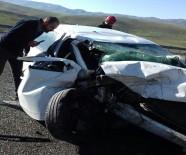 Elazığ-Bingöl Yolunda Kaza Açıklaması 2 Ölü, 1 Yaralı