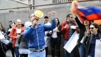 ERMENISTAN - Gürcistan'da 'Sarkisyan İstifası' Sevinci