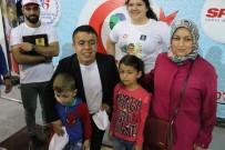 OLİMPİYAT ŞAMPİYONU - Halil Mutlu, 23 Nisan Çocukları İle Buluştu