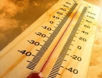 HAVA SICAKLIKLARI - Hava sıcaklığı artıyor