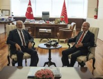 MEHMET BEKAROĞLU - Kılıçdaroğlu, Karamollaoğlu ile görüştü