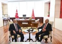 MEHMET BEKAROĞLU - Kılıçdaroğlu, SP Genel Başkanı Karamollaoğlu İle Görüştü