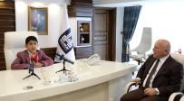 MEHMET SEKMEN - Küçük Başkan Gezer'den Başkan Sekmen'e Teşekkür
