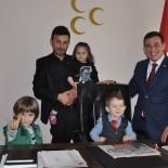 BILECIK MERKEZ - MHP Merkez İlçe Başkanlık Koltuğu Çocuklara Emanet