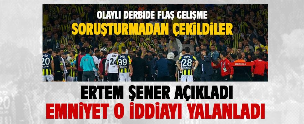 Olaylı F.Bahçe-Beşiktaş derbisi ile ilgili flaş gelişme!