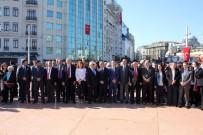 SEZGİN TANRIKULU - Taksim'deki 23 Nisan Törenlerinde CHP'li Sezgin Tanrıkulu'na Tepki