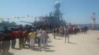 TCG Fırtına, 23 Nisan'da Güllük'te Ziyarete Açıldı