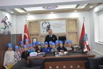 ULU CAMİİ - Anaokulu Öğrencilerinden Emniyet Müdürlüğüne Ziyaret