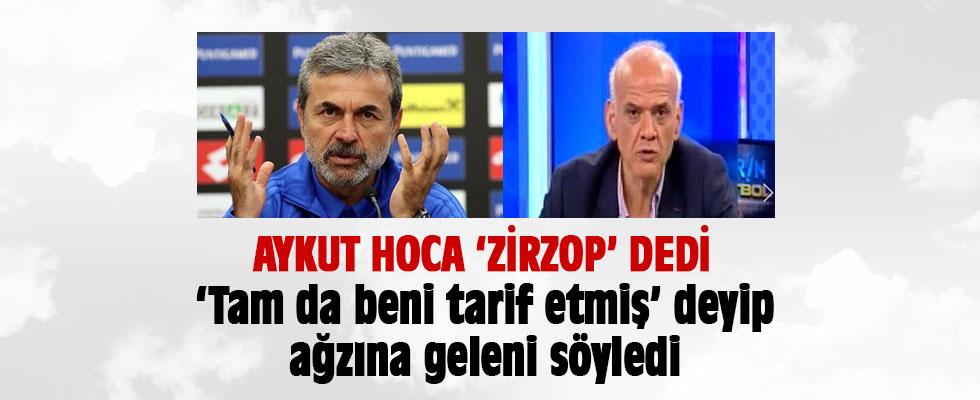 Aykut Kocaman Çakar'a 'Zirzop' dedi Çakar'dan sert yanıt geldi
