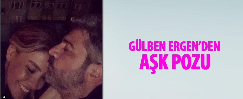 Gülben Ergen ile Burak Törer'den aşk pozu