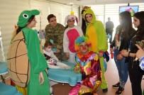 ÇOCUK BAYRAMI - Hastanede Tedavi Gören Çocukların 23 Nisan Coşkusu