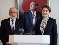 İYİ Parti lideri Akşener ile SP lideri Karamollaoğlu görüşüyor