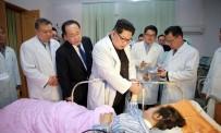 ÇİNLİ - Kuzey Kore Lideri Kim'den Kaza Geçiren Çinlilere Ziyaret