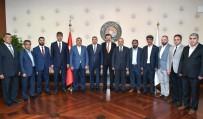 RAMAZAN ÖZCAN - Malatya Ticaret Borsası'ndan Hisarcıklıoğlu'na Ziyaret