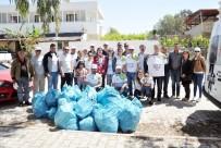 EĞİTİM PROJESİ - Milas'ta CHP'li Gençlerden Çevre Temizliği