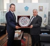 KONYA VALİSİ - ÖSYM Başkanı Prof. Dr. Mahmut Özer'den NEÜ'ye Ziyaret
