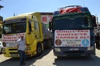 DENİZ FENERİ - Şuhut'tan Afrin'e 4 Tır Yardım