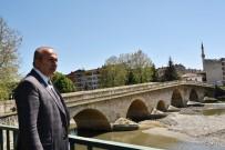 HAKKı KÖYLÜ - Tarihi Taş-Köprü'nün Restorasyonu Başladı