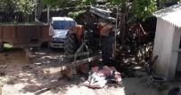 Traktörün Altında Kalan Sürücü Öldü, Eşi Ağır Yaralandı