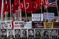 LOS ANGELES - ABD'de Ermenilerin Sözde Soykırım Gösterilerine Karşı Türk Protestosu