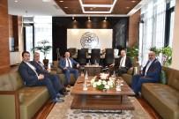 KAYSERI TICARET ODASı - AK Parti İl Başkanı Özden KTO Başkanı Gülsoy'a Hayırlı Olsun Ziyaretinde Bulundu