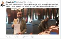 MUSTAFA YEL - AK Parti'nin Tekirdağ'daki İlk Aday Adayı Belli Oldu