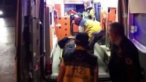 TRAFİK POLİSİ - Alkollü Sürücü Uygulama Yapan Polise Çarptı