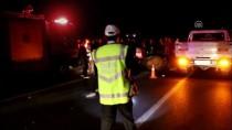 Aydın'da Otomobil Deveye Çarptı Açıklaması 2 Yaralı