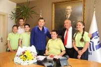 ÇOCUK BAYRAMI - Bodrum Çiftlik Mustafa Yazıcı İlkokulu Ve Ortaokulu'ndan Ziyaret