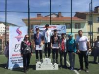 BİLEK GÜREŞİ - Bozüyük'te Ortaokullar Arasında Bilek Güreşi Turnuvası