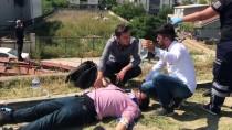 OVAAKÇA - Bursa'da 6 Kişinin Ağır Yaralandığı Kaza Güvenlik Kamerasında
