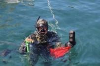 TEKSTİL MALZEMESİ - Deniz Dibi Temizliğinde Çıkan İlginç Atıklar Şaşırttı
