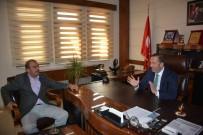 CEBRAIL - Erzurumlular Derneğinden, Başkan Toltar'a Ziyaret