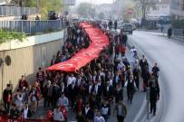 ABDULLAH DÖLEK - Eyüpsultanlı Gençler, 57'Nci Alay'a Vefa İçin Yürüdü